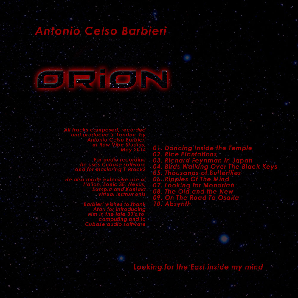 orion back cover